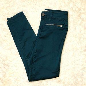 Pants - Teal Skinny Pants